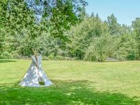 Tipi on the meadow