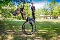 Let's have fun on the swing!