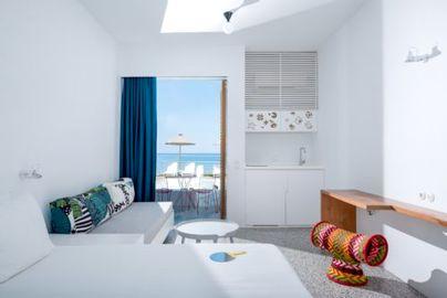 Family Friendly Holidays at Ammos Hotel- Sea View Studio