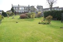 Large communal gardens at Sneaton Hall