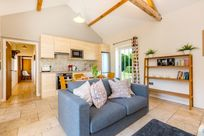 Coot cottage sleeps 3 living space