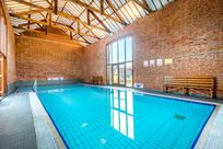 Luxury indoor heated pool at Cranmer