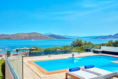 Family Friendly Holidays at Elounda Gulf Villas & Suites - Beach Front Villa