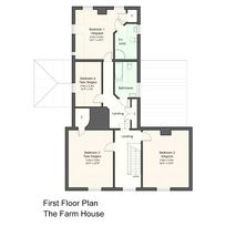 Upstairs room lay out