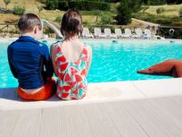 FLOATING BEAN BAGS AND HOLIDAY FUN AT THE POOL