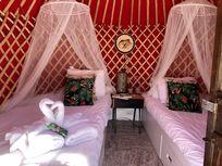 Eco Twin Yurt Pod childrens pod