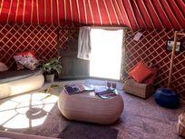 Eco Twin Yurt Pod large pod