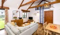Lounge, dining mezzanine bedroom