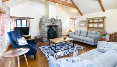 Family Friendly Holidays at Tredethick Farm Cottages - Granary