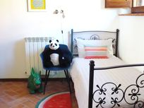 THE GUBBIO 3RD BEDROOM WITH 1 SINGLE AND FULL SIZED COT