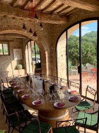 Child friendly wine tastings within walking distance on the Carmine Estate