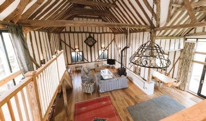 Family Friendly Holidays at Partridge Lodge - The Dairy Hall at Partridge Lodge
