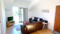 The Hayloft - open plan living area