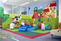 Let the children enjoy the soft play