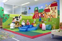 Indoor softplay area