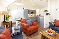 Large open plan lounge kitchen/diner