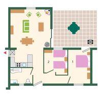 Wagtail floor plan