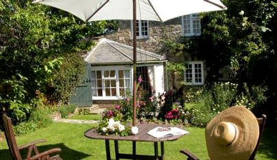 Family Friendly Holidays at Treworgey Cottages - Hollyhock