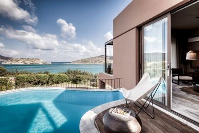 Family Friendly Holidays at Domes of Elounda - Family Suite Own Pool