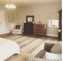 Spacious bedroom 2 - room for a cot too!