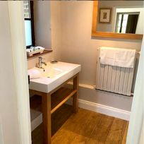 The downstairs shower room -  handy for the kids