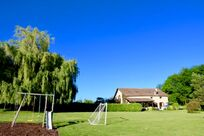 Enjoy the fenced two acre garden which is perfect for rounders and cricket!