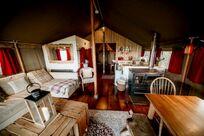 Safari Tent 5 with log burning tub Image 3