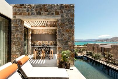 Family Friendly Holidays at Domes of Elounda - Core 1 Bed Residence with Pool