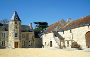 Chateau de Chargé - Exterior