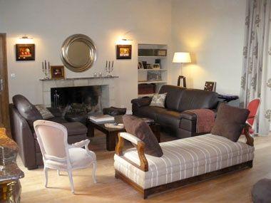 Chateau de Chargé - Guest Sitting Room