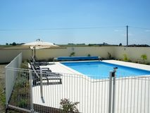Chateau de Chargé - Heated Exterior Pool 10x5 open Apr-Oct