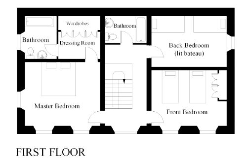 Floor plan (first floor)
