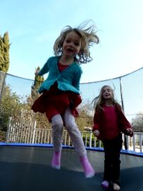 Giant trampolines x2!
