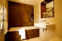 The en-suite bathrooms - all bathrooms the same high quality