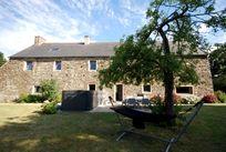 rear of the farmhouse