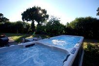 heated swim-spa