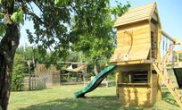 Lots of safe space for the kids and grassy areas for footie, archery, cricket, boules . . . Meet Sarah up the garden for a bit of face painting or a much loved Treasure Hunt.