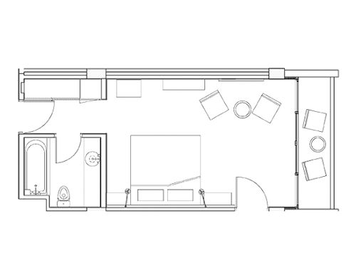 Veranda Room Floor Plan