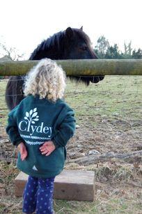 Clydey Girl & Pony