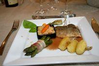 Meal at Bois Bourdet