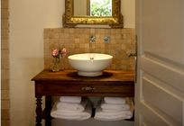 In your bathroom you'll find a selection of L'Occitane bath products