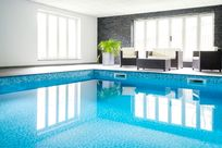 Our fabulous indoor pool.