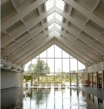 Heated infoor pool at the Spa