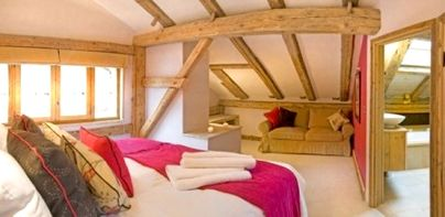 Family Friendly Holidays at Sky Chalet - Double room for 3