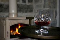 Enjoy a drink from the honesty bar