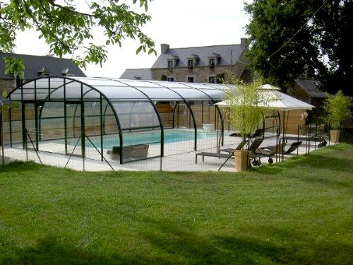 Beautiful heated, covered pool