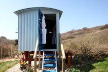 Amenities in the Shepherd huts!