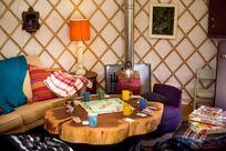 Communal yurt
