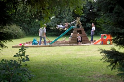 Fron Fawr Outdoor Playarea And Sandpit