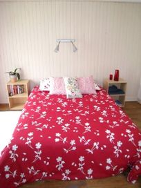 Downstairs - double bedroom (140x200cm bed) and room for travelcot on request